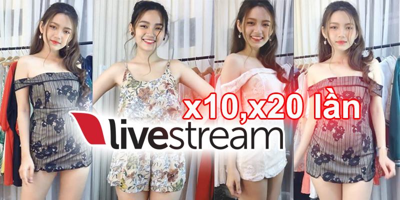 Kinh nghiệm live stream giúp bạn tăng hiệu quả khi live stream bán hàng lên x10, x 20 lần - Phần mềm Sniper