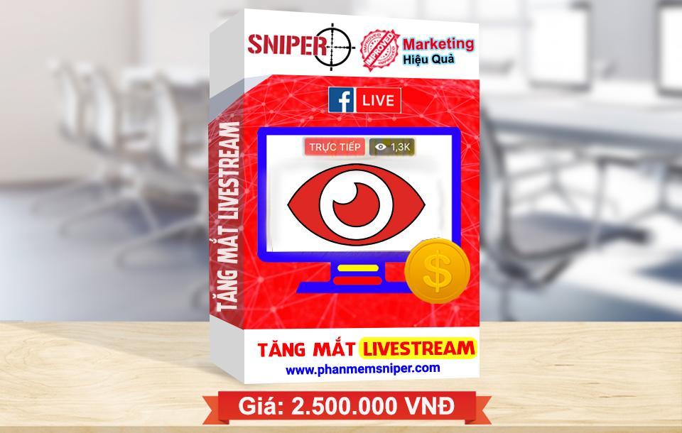 tăng mắt livestream