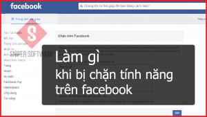bị chặn tính năng trên facebook