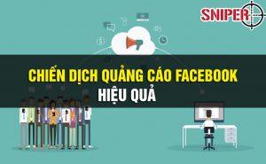 chiến dịch quảng cáo facebook hiệu quả