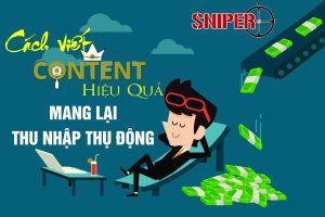 Cách viết content hiệu quả, mang lại thu nhập thụ động