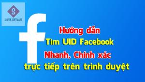 Tìm UID Facebook